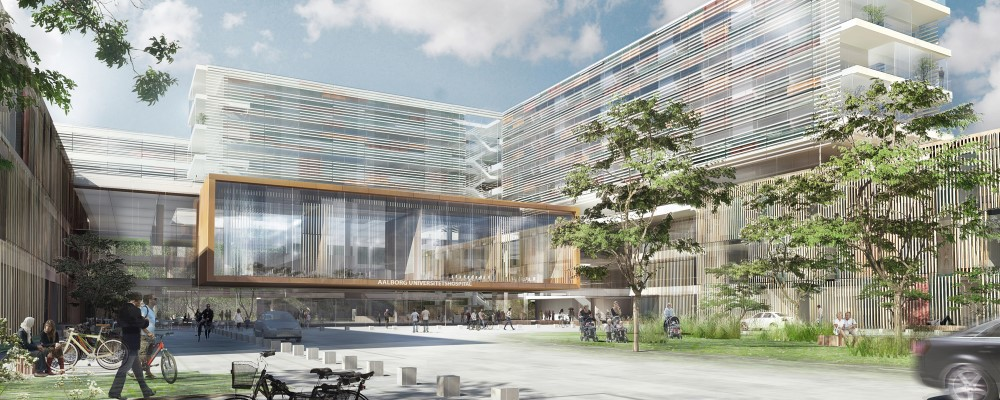 Visualization of new hospital building