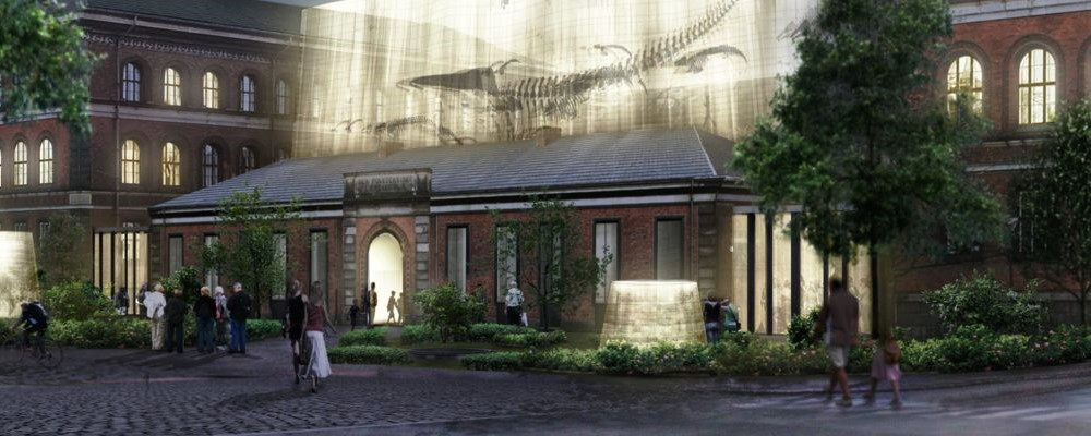 visualization of new museum building