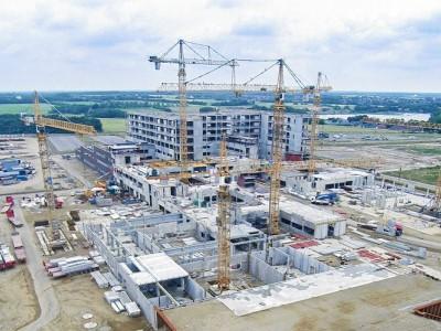 Construction site for DNV Goedstrup