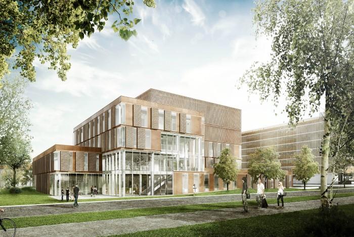 visualisering af nyt hospital bispebjerg