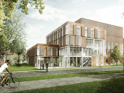 visualization of hospital building